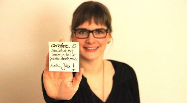 Bewerbung 2.0 - Christine Heller