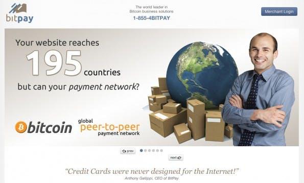 Bitcoins im E-Commerce: Der bekannteste Zahlungsdienstleister heißt Bitpay.