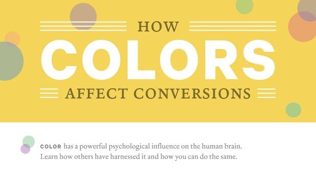 Wie Farben die Conversion-Rate beeinflussen [Infografik]