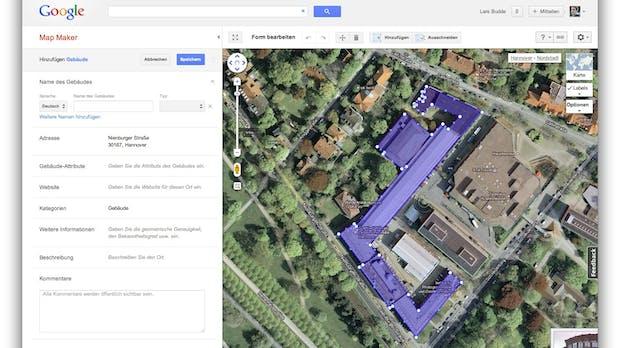 Google Map Maker: Mitmach-Landkarte startet in Deutschland