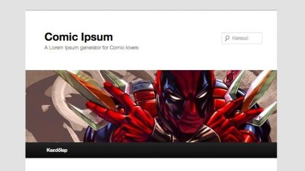Lorem Ipsum Alternativen Comic Ipsum