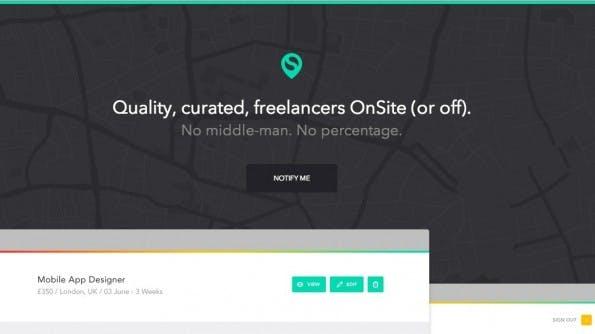 OnSite legt den Fokus auf lokale Jobangebote.