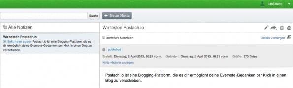 Postach.io - Screenshot 3