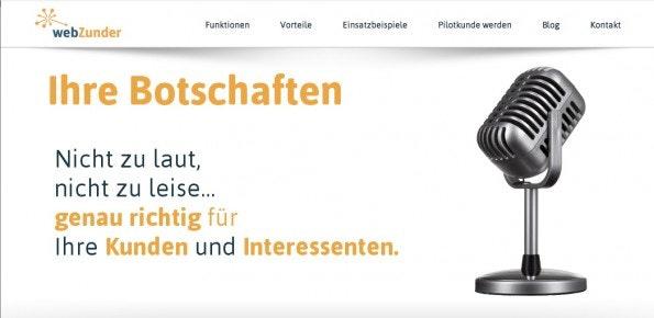Mit Webzunder kommt auch ein Social-Media-Dashboard aus Deutschland.