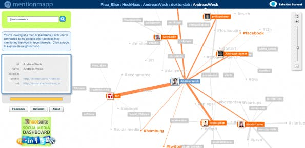 Twitter-Analyse-Tool - MentionMap