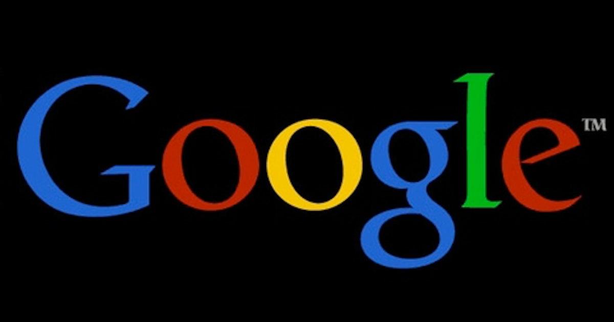 google schwarz machen