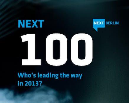 NEXT 100: Das sind die wichtigsten 100 Köpfe der europäischen Digital-Industrie