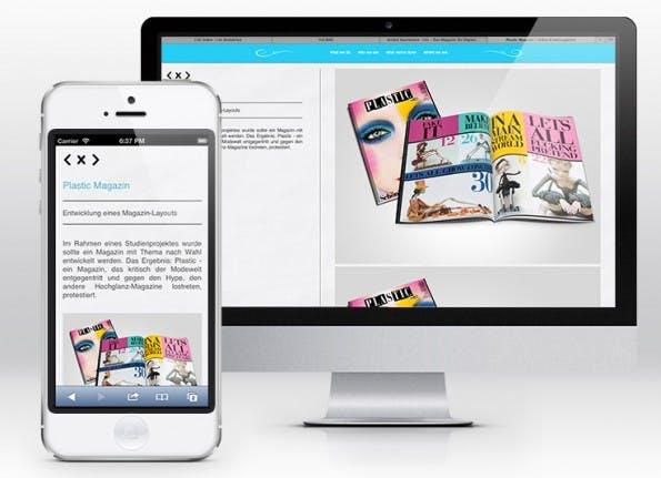 Beim Responsive Webdesign sollten Designer die Typografie nicht vernachlässigen. Die Schrift sollte auch vom mobilen Nutzer auf den ersten Blick lesbar sein. Designer sollten vermeiden, dass der Nutzer erst zoomen muss, bevor er lesen kann.