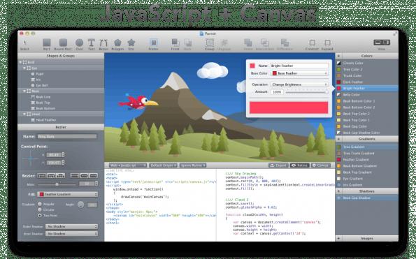 Der von WebCode erzeugte Code ist ordentlich und übersichtlich.