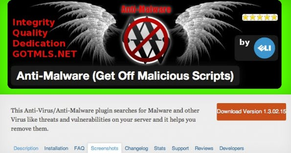 wordpress-sicherheit antimalware