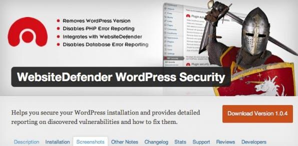 wordpress-sicherheit defender