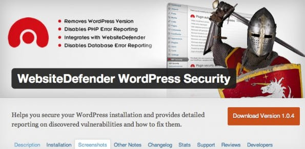 wordpress-sicherheit defender