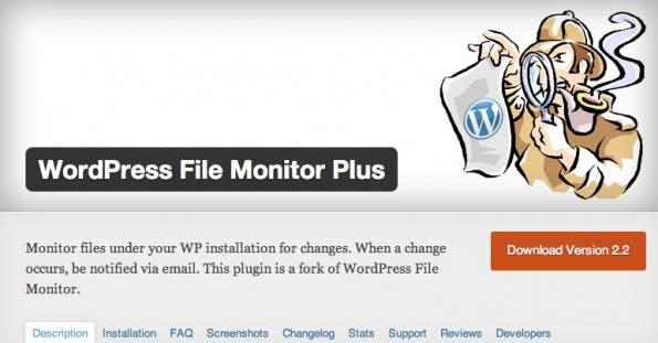 wordpress-sicherheit filemonitor