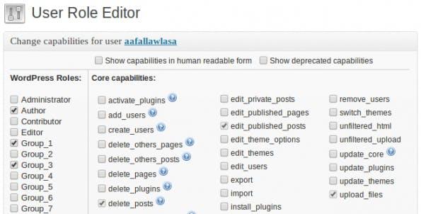 wordpress-sicherheit userrole