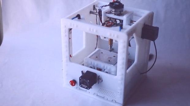Othermill: Kleine CNC-Fräse für unter 1.000 Euro