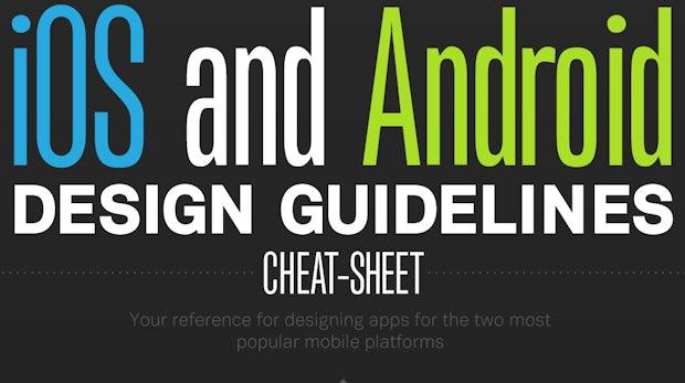 Die wichtigsten Design-Guidelines für iOS und Android