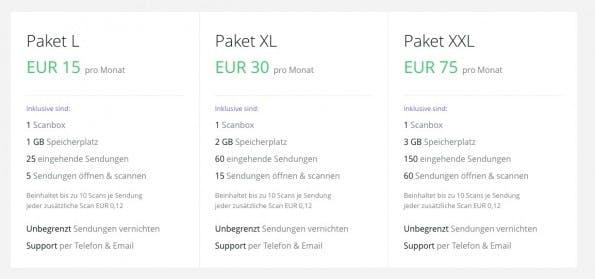 Dropscan: Die hohen Preise schrecken ab. (Screenshot: Dropscan.de)