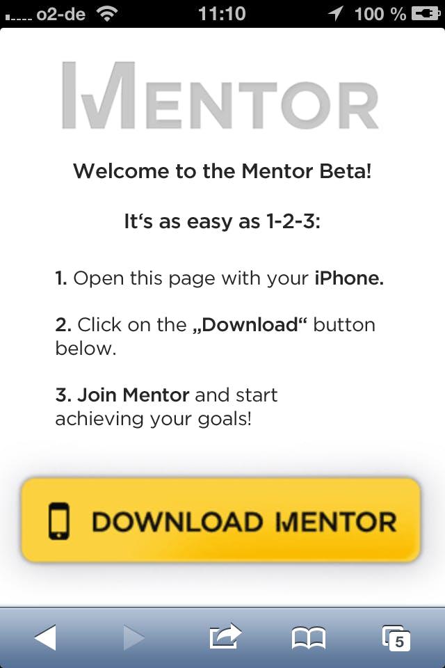 (Screenshot: Mentor)
