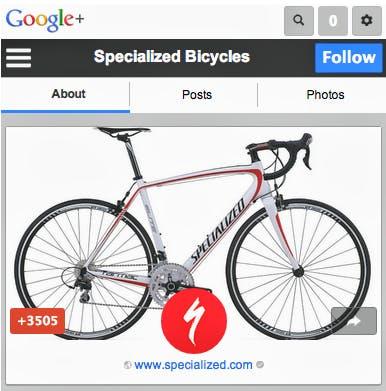 Google+ für den Mobilbrowser kommt mit größeren Schaltflächen und einer prominenteren Darstellung von Bildern und Videos.