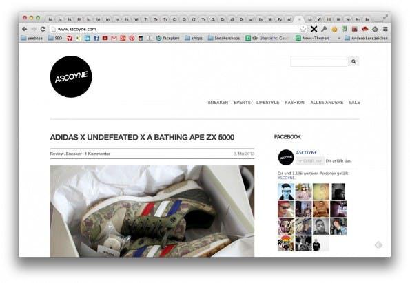 ascoyne - Sneaker Blog