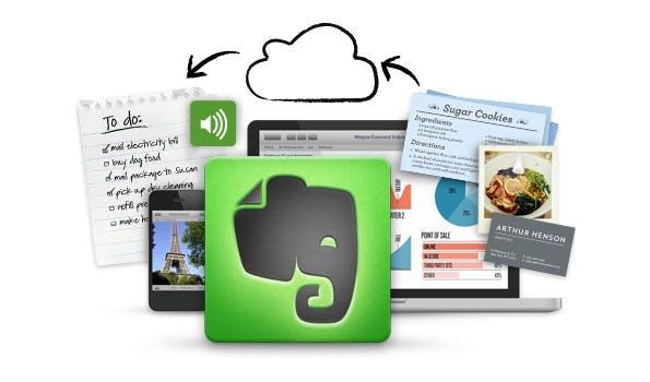 Wem die Synchronisation von Evernote nicht ausreicht, kann sich ganz einfach Backups anlegen. (Screenshot: evernote.com)