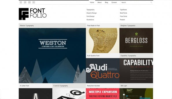 fontfolio_wordpress_portfolio_theme