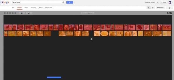 Ein Google Easteregg zu Ehren von Atari Breakout erlaubt das Zocken in der Bildersuche.