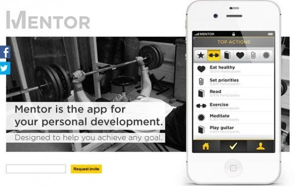 Mentor - Die Motivationsapp(Screenshot: Mentor)