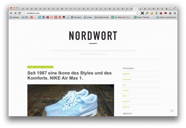 Nordwort - Sneaker Blog