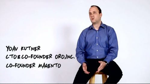 Yoav Kutner - Mitgründer von Magento (Screen: Oro)