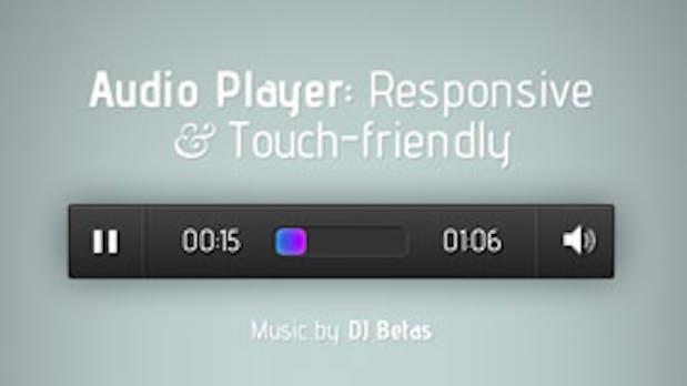 Responsive Design: Touchfreundlicher Audio-Player für jQuery