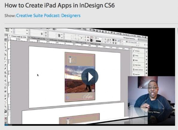 tutorials app-entwicklung ios indesign