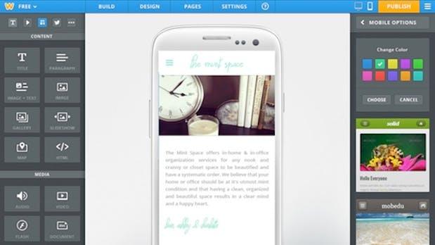 Homepage-Baukasten Weebly generiert jetzt HTML5- und Mobile-Sites
