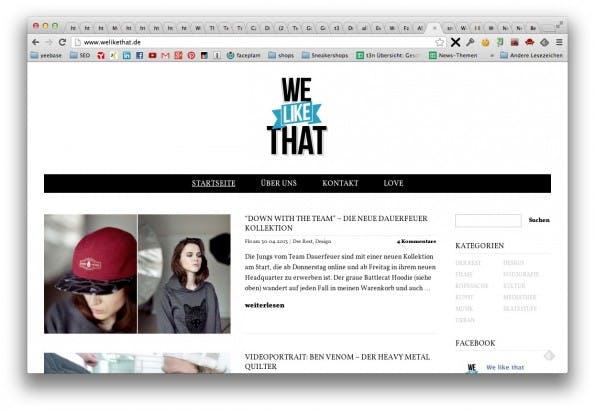 We Like That - Lifestyle Blog