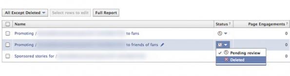 """Facebook Promoted Posts: """"Für Freunde von Fans"""" löschen und Targeting wieder freischalten. (Bild: Screenshot futurebiz.de)"""