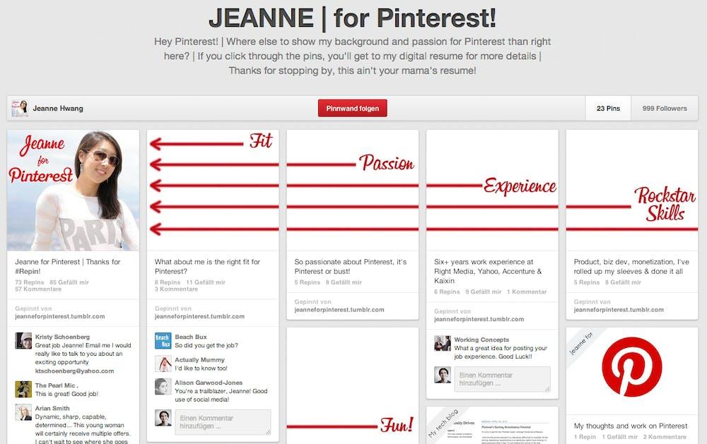 42fb1b87ec54 Jeanne Hwang wollte unbedingt zu Pinterest ...