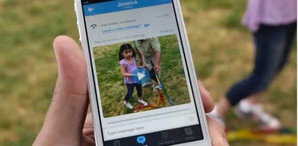 Mit Skype Video Messaging kannst du Erlebnisse mobil aufnehmen und an Kontakte verschicken. (Screenshot: YouTube)