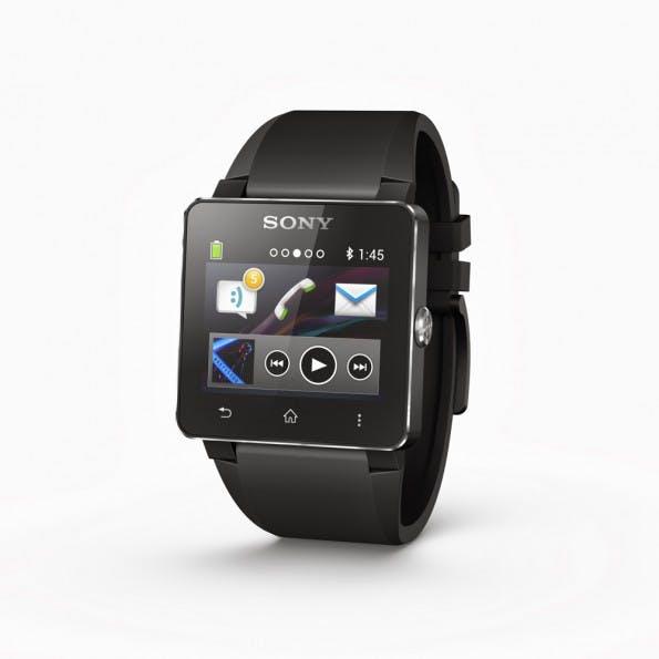 Second Screen für Android-Smartphones: die Sony SmartWatch 2. (Quelle: Sony)