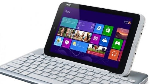 Acer Iconia W3: Erstes 8-Zoll-Tablet mit Windows 8 Pro kommt im Juli