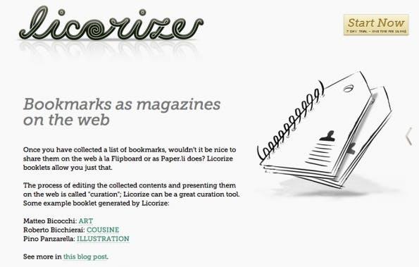 bookmarking-dienste licorize