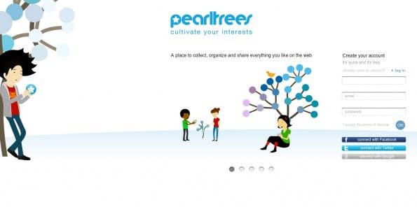 bookmarking-dienste pearltrees