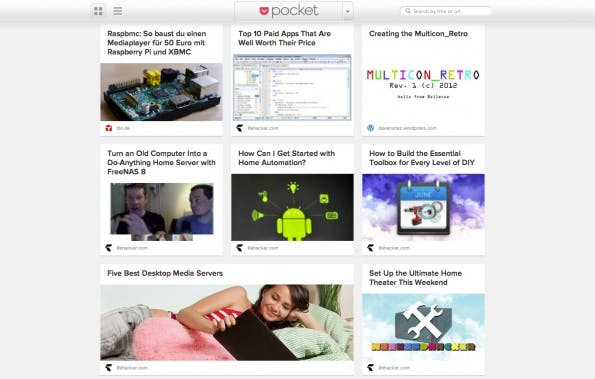 bookmarking-dienste pocket