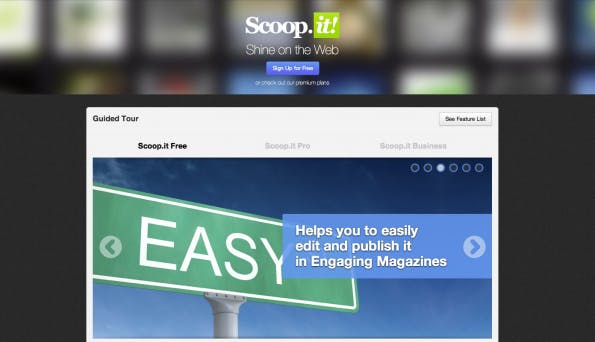 bookmarking-dienste scoopit