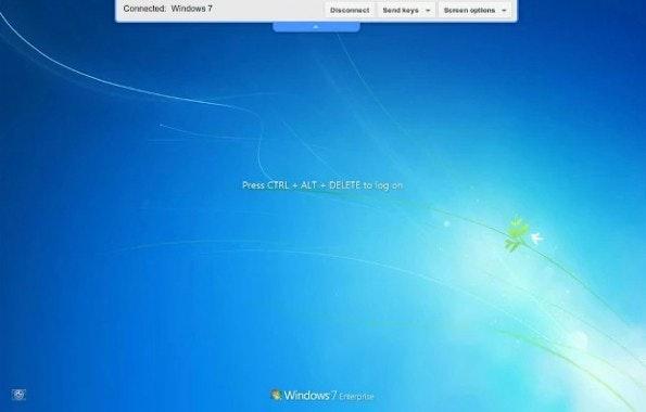 Chrome Remote Desktop macht aus eurem Browser ein praktisches Fernwartungstool. (Screenshot: Google)