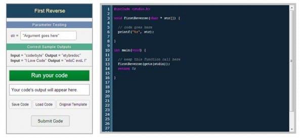 Auf Coderbyte können sich Programmierer verschiedenen Aufgaben stellen. (Bild: Kickstarter)