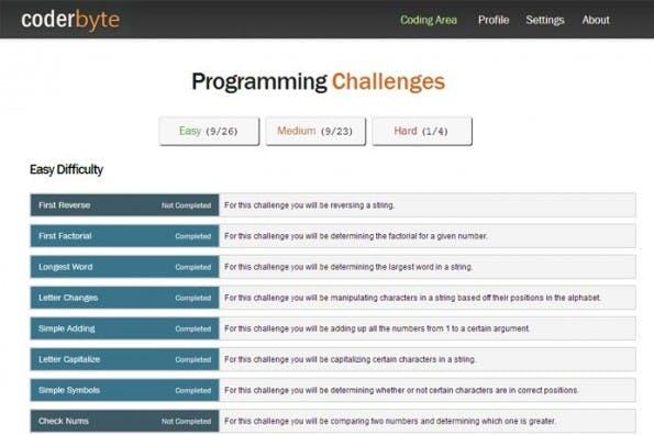 Coderbyte will Entwickler mit einem Punktesystem und verschiedenen Preisen motivieren. (Bild: Kickstarter)