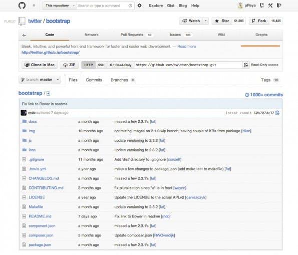 """Diese GitHub-Seite kriegt man oft präsentiert, wenn man heutzutage OpenSource-Software runterladen will. Für Nicht-Entwickler ist eigentlich nur der """"Zip""""-Button in der linken Ecke wichtig, damit kann die aktuelle Version des Projekts heruntergeladen werden."""