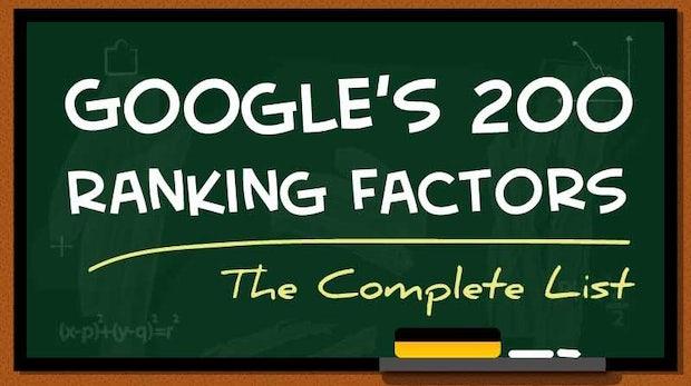 200 Ranking-Faktoren: So steht auch deine Site bei Google weit oben