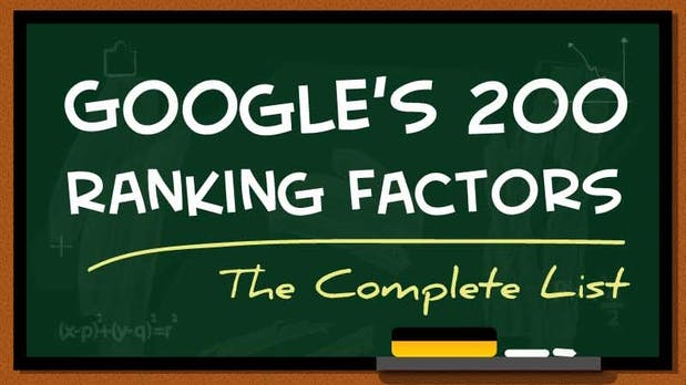 200 Ranking-Faktoren: So steht auch deine Site bei Google weit oben [Infografik]