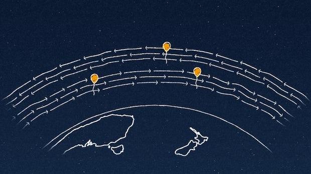 Project Loon: Heißluftballons bringen das Internet in entlegene Gegenden